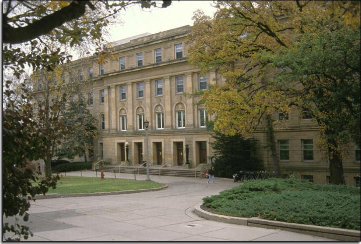 Birge Hall Front Entrance
